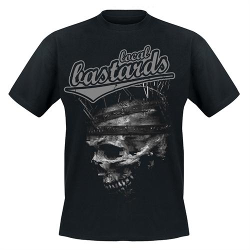 Local Bastards  Krone der Schöpfung, T-Shirt (grauer Druck)